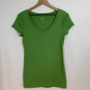 Loft size Small green T-shirt